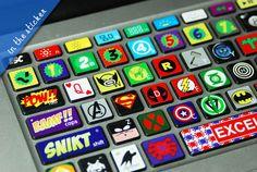 Macbook decal Macbook Keyboard Decal Macbook Pro by inthesticker, $16.98