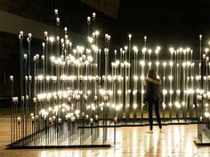 LEDscapes: A Lighting Installation #lights