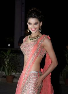 Urvashi Rautela Revealing Her Amazing Figure at Tulsi Kumar's Wedding