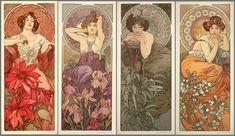 The Precious Stones (1900) by Alphonse Mucha