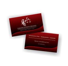 Cartão de visita Advogada Fabianne Verlindo