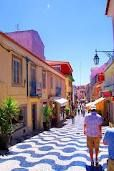 Streets of Cascais, Portugal