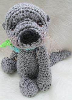 Ravelry: Cute Otter Crochet Pattern pattern by Teri Crews