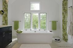 tub.  contemporary bathroom by Divine Kitchens LLC