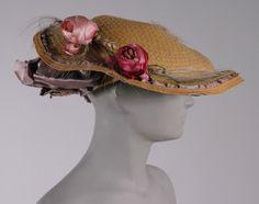 Hat, Jeanne Lanvin, 1910s, The Philadelphia Museum of Art