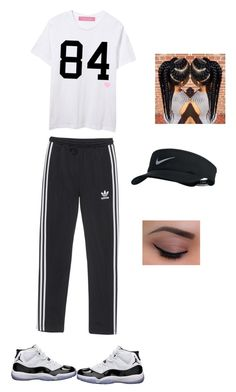 """Running!"" by mikaylap70 on Polyvore featuring NIKE, adidas Originals and Concord"