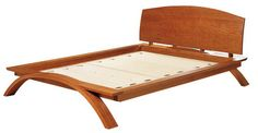 thomas moser, vita bed. inspiration. the king runs about $6-7000 depending on finish!