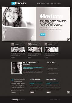 University Online WordPress Themes by Elza