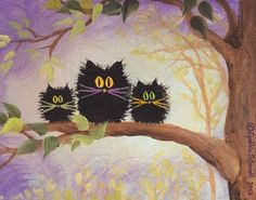 ~Scaredy Cats by Cynthia Schmidt
