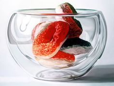 Hyper-realistic paintings by Sung Ha AN from Korea.