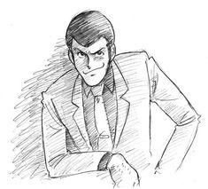ルパン三世 - Lupine the Third Studio Ghibli, Manga Anime, Anime Boys, Character Concept, Character Design, Detective, Lupin The Third, Cute Cartoon Characters, Manga Illustration