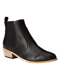 {RETURNED- 1st order in size 9 (too small), exchanged for size 10.  Not right!  Really wanted this style to work, but the search continues} Chelsea boots in black (ordered size: 9) $89.95 {fall 2014}