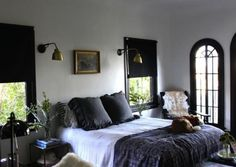 Inspirational images and photos of Bedrooms, Gray : Remodelista