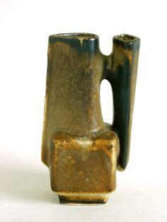 LORE Beesel Vase B 111/1 Green Netherlands Holland MATT CAMPS Dutch Art Pottery | eBay