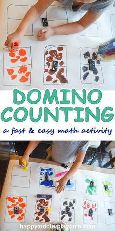 Super fun math activity for toddlers and preschoolers. This is an awesome way to practice counting and numbers. Math Activities For Toddlers, Kindergarten Math, Toddler Preschool, Toddler Snacks, Learning Activities, Preschool Activities, Play Based Learning, Learning Through Play, Kids Learning