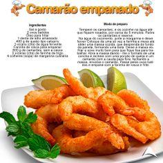 Que tal um camarão empanado nessa sexta de noite ?? Delicia de receita !!  Fique de olho em nossas postagens (; http://www.atenascalcados.com.br/