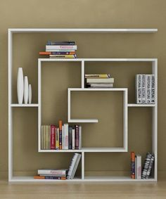 white modular wall shelving with contemporary style - decoist