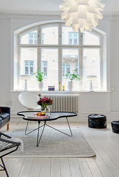 A light, bright and beautiful Stockholm home