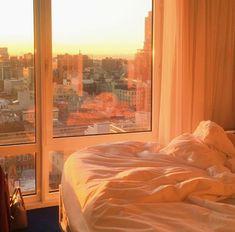 Gemini Sun, Gemini Moon, Libra Rising Aesthetic Requested by Apartment View, Dream Apartment, City Aesthetic, Aesthetic Room Decor, Gold Aesthetic, Orange Aesthetic, Window View, Deco Design, Dream Rooms