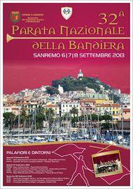 Eventi News 24: La Parata Nazionale della Bandiera, che si svolgerà - per la prima volta - nella città di Sanremo il 6 - 7 - 8 settembre 2013, Proposto da www.eventinews24.com