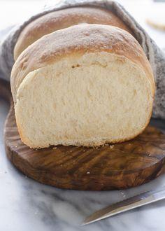Sourdough Sandwich Bread Recipe - Buttered Side Up Sourdough Sandwich Bread Recipe, Sourdough Starter Discard Recipe, Sandwich Loaf, Sandwich Bread Recipes, Sourdough Recipes, Naan, Fermented Foods, Artisan Bread, Bread Baking