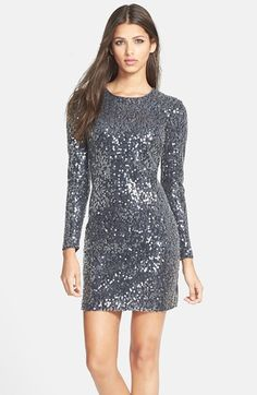 Maia Sequin Stretch Sheath Dress available at #Nordstrom