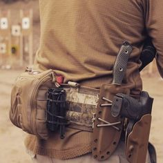 Make a new tan kydex sheath for my SOG SEAL knife and strap it on like this
