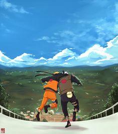 Naruto e Kakashi