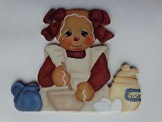 HP Gingerbread Fridge magnet~Baking