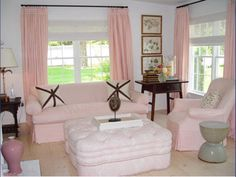 10,8M - 30 Extremely Charming Pink Living Room Design Ideas - Rilane