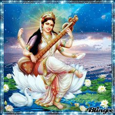 Saraswati Mata, Saraswati Goddess, Durga Maa, Good Morning Image Quotes, Morning Quotes, Spiritual Awakening Stages, Shree Krishna Wallpapers, Pooja Sharma, South Indian Film