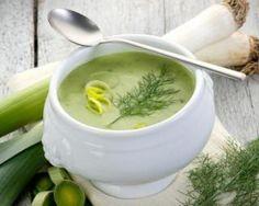 Soupe de poireaux zéro graisse…