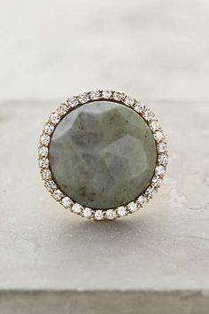 Anthropologie - Shimmer-Round Ring