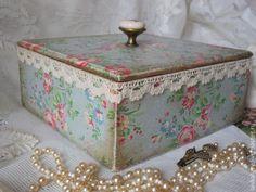 "Baskets, boxes handmade. The box ""Grandmother cotton."" Lyudmila Kruglov Shop ""Comfort"". Shop Online Fair Masters. Gray"