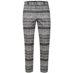 TOPMAN Grey Fleck Skinny Fit Cropped Smart Trousers ($44) ❤ liked on Polyvore featuring men's fashion, men's clothing, men's pants, men's casual pants, mid grey, mens skinny pants, mens cropped pants, mens zipper pants, mens cotton pants and mens zip off pants