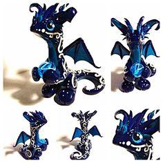 Glass eye Test Dragon by LittleCLUUs.deviantart.com on @DeviantArt