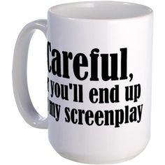 Careful... screenplay - Mug