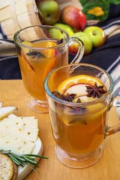 Cozy up to a Cointreau Mulled Cider