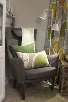 With an adjustable head rest, high back and armrests, this STOCKHOLM chair is created for comfort. Throw in a 10-year warranty, and it's sure to be a family favorite!