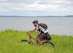 Ever try the Kilt run?! #Cycling #Canada