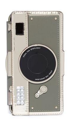 Kate Spade New York Camera Folio iPhone 7 / 8 Case, Multi, iPhone 7