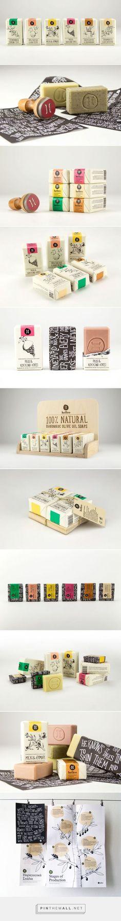 Helleo Natural Soap Packaging by till noon | Fivestar Branding – Design and Branding Agency & Inspiration Gallery