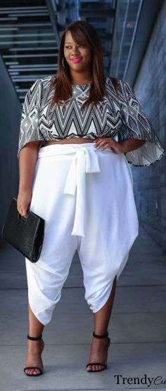 Mix And Match // Fashion Look by Trendy Curvy