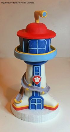paw patrol tower cake figurine tour pat patrouille https://www.facebook.com/figurinesanniedemers