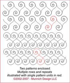 Миних Конструкция - Одеяло Рецепты: Цифровой Стежка Шаблон - Просмотреть Все Шаблоны