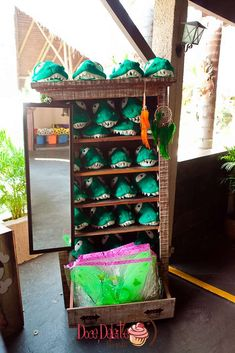 Fun favors at a Peter Pan Neverland birthday party! See more party ideas at CatchMyParty.com!