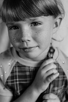 Ангелина Коваль / Canon EOS 70D / портрет, чб