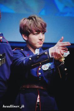 Jungkook ❤ BTS Hongdae Fansign (170226) #BTS #방탄소년단