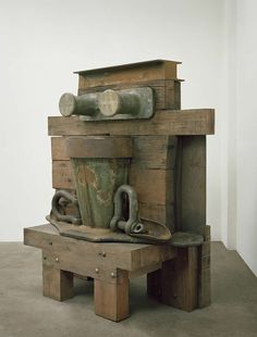 WALL_color and texture _by anthony caro