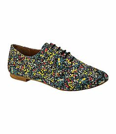 GB Gianni Bini TomBoy FloralPrint Oxfords #Dillards